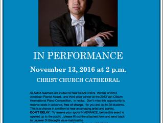 Sean Chen Concert