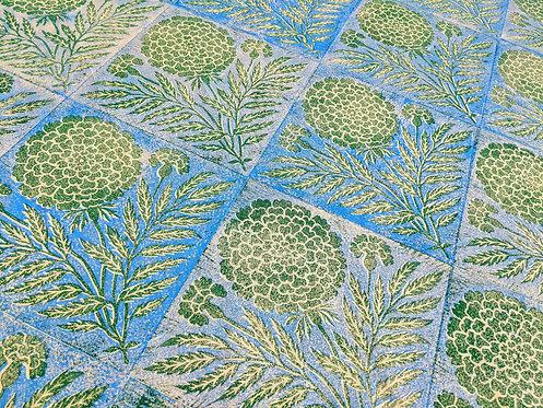 Marigolds ~ 2 Colour Print