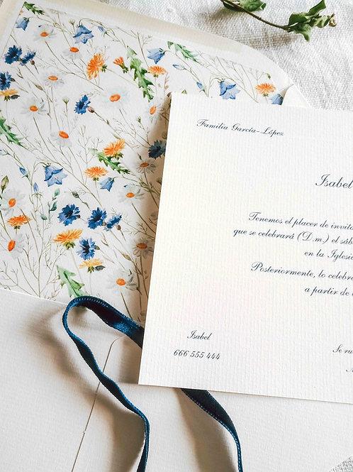 Invitación Margaritas