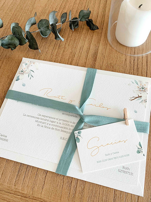 Invitación de boda Prima Veris