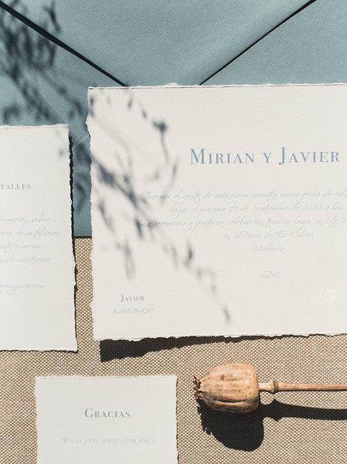 Invitación de boda Emma