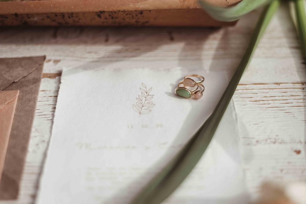 invitaciones papel artesanal