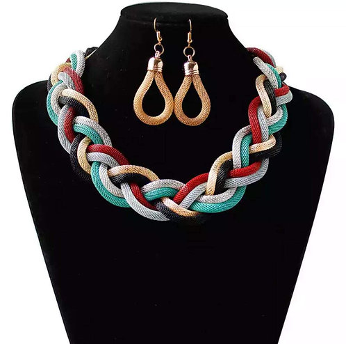 Colorful Braid Chain