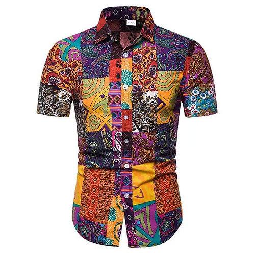 Men African Printed Shirt
