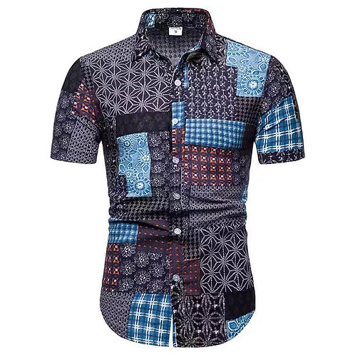 Men African Printed Shirt
