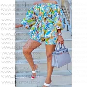 Summer Flower Printed Fashion