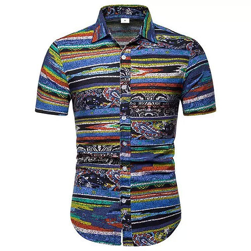 Men African  Shirt Printed