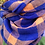 Thumbnail: Blue & Cream Plaid Infinity