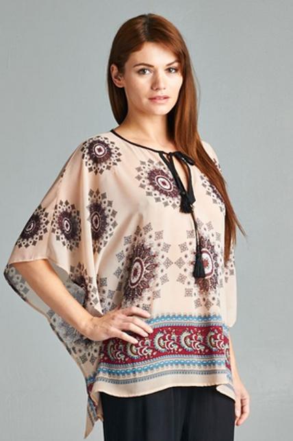 Kimono with Tassel