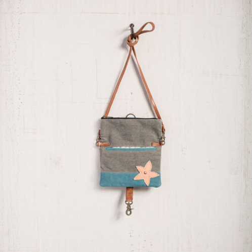 Floral Fold Over Crossbody