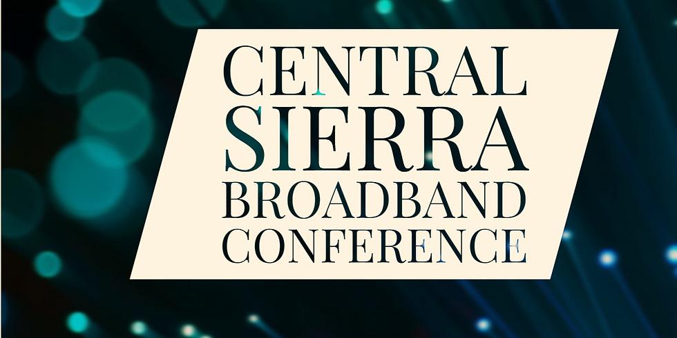 Central Sierra Broadband Conference