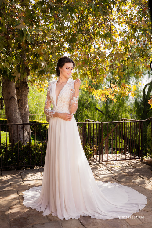 Salem | S182112 | Evelyn Bridal | Couture Wedding Gown