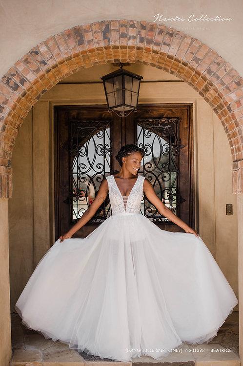 Beatrice   N201393 (Long Tulle Skirt Only)