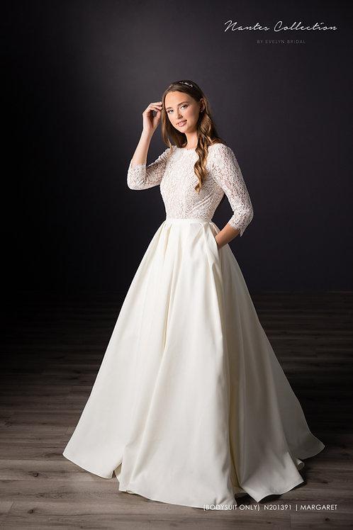 Francisca   N201396 (Long Satin Skirt Only)