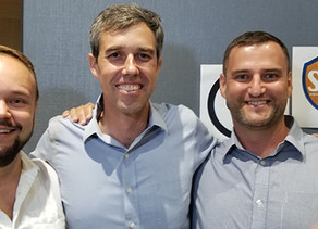 Presidential Candidate Beto O'Rourke Meets with SAFE