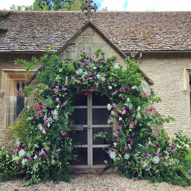 BRITISH FLOWERS WEEK INSTALLATION