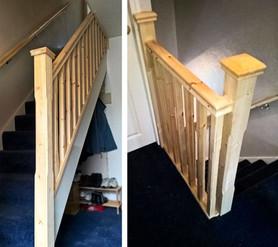 Bob & Rose's Pine Staircase