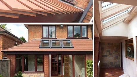 John Conservatory Roof & Plastering