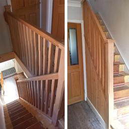 Bernie & Choc's Oak Staircase