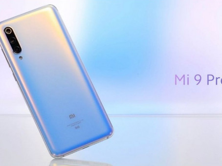 Mi 9 pro launched with 5G support and wireless support.