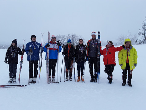 RÉGIONAL DE SKI NORDIQUE : Une pluie de médailles pour nos skieurs