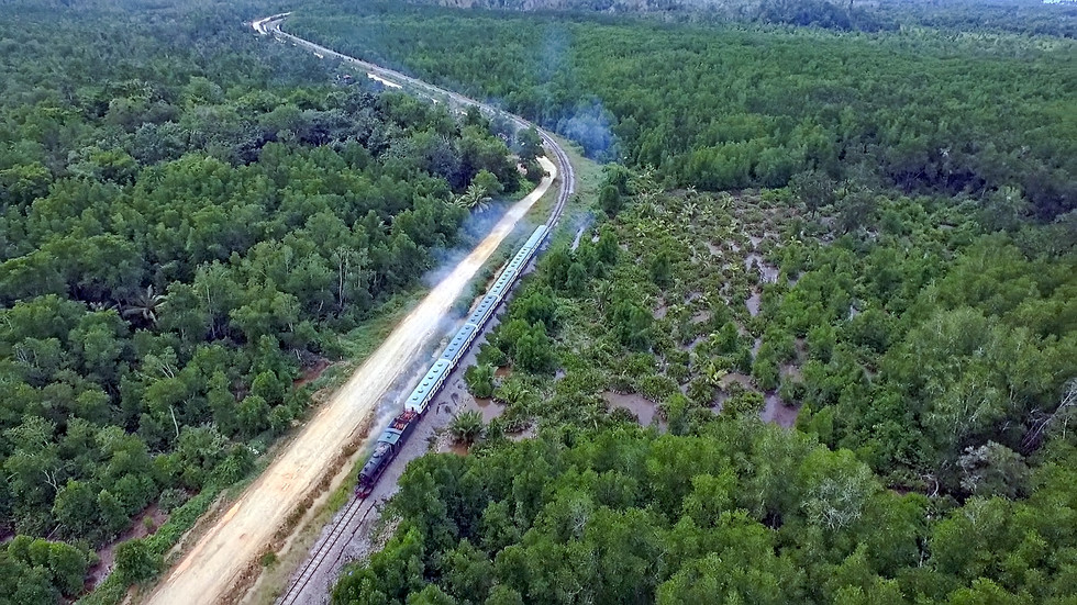A Journey On North Borneo Railway
