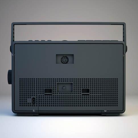 Radio back
