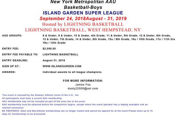 Island Garden Super League