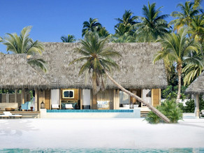 The Waldorf Astoria Maldives King Beach Villa with Pool Booked on Points 2020
