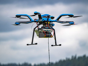 Nowy dron Flying COW firmy AT&T