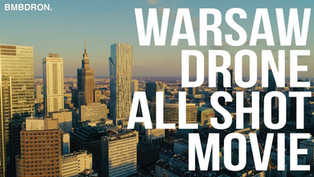 Filmy z drona Warszawa