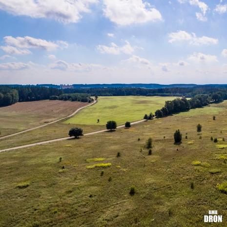 Krajobraz z drona