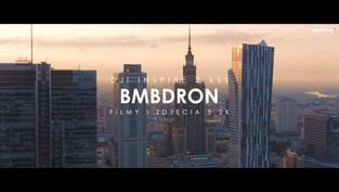 Centrum Warszawy o wschodzi słońca z drona | BMBDRON. | 5.2K 5120x2160 Prores 25p DJI INSPIRE 2