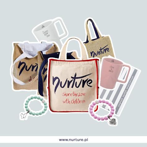 Produkty Projekt grafiki na media społecznościowe dla firmy Nurture the World