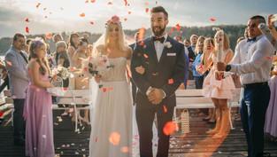 Ujęcia z dorna do Teledysku ślubnego