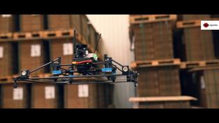 Projekt inwentaryzacji magazynu dronem autonomicznym - ESA logistika & NeuroSpace