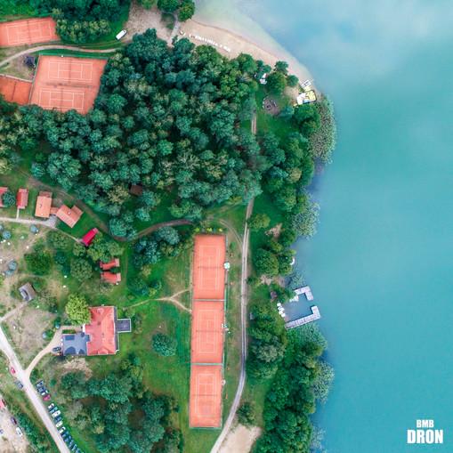 Mazury z drona