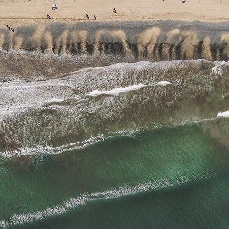 Plaża z drona | 4K
