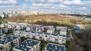Zdjęcia nieruchomości z drona Warszawa