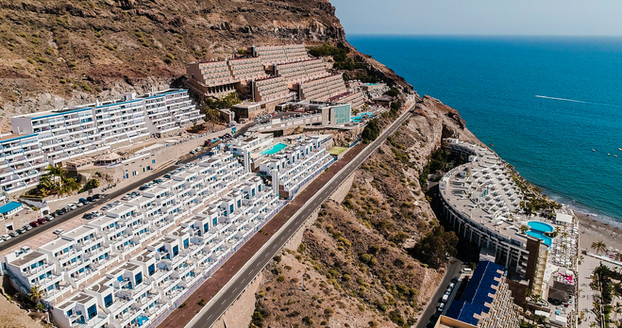 Hotel Gran Canaria z drona