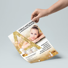 Projekt plakatu dla firmy Aminocare