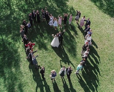Dron na Wesele teledyski ślubne z drona