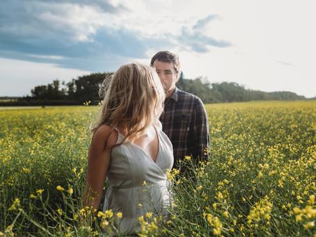 Canwood Engagement: Luke + Camille