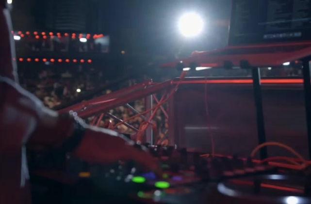 DJ Jeff at Virgin Radio's Redfest Dxb
