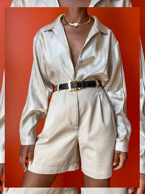 Gold Irridescent Blouse