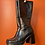 Thumbnail: 90s Square Toe Chunky Leather Boots