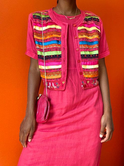 Rainbow Ribbon Dress Set