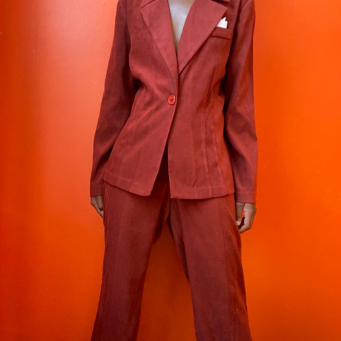Vintage Polyester Suit