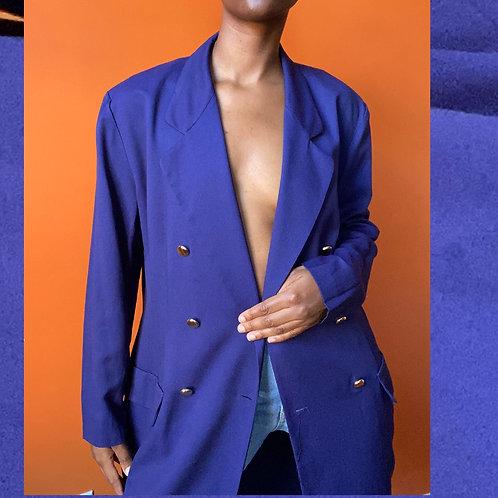 Navy Blue Dress/Blazer