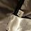 Thumbnail: Grey Wrap Belt Quilt Coat
